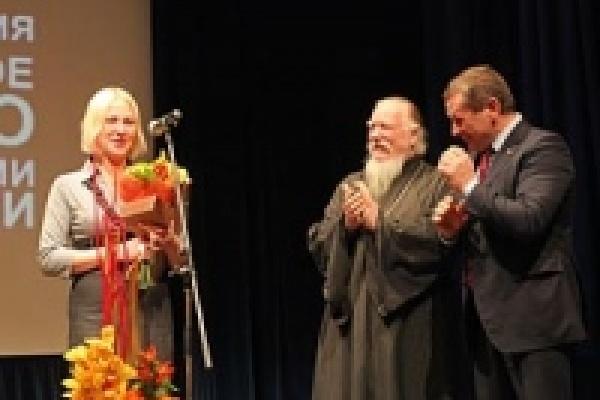 Отважную липчанку наградили правозащитники
