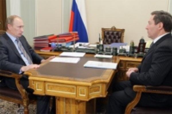 Владимир Путин встретился с Олегом Королёвым