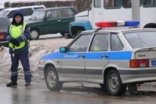 Инспекторы ДПС задержали грабителя