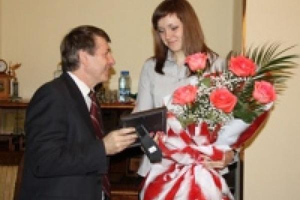 В мэрии Липецка наградили лучших тренеров и спортсменов 2010 года