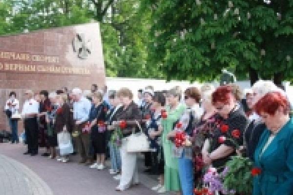 В Липецке вспомнили о погибших в локальных войнах и военных конфликтах