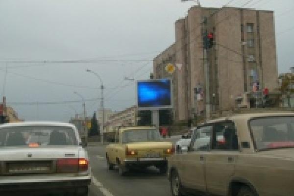 Липчане смогут увидеть данные о состоянии атмосферного воздуха на большом уличном экране