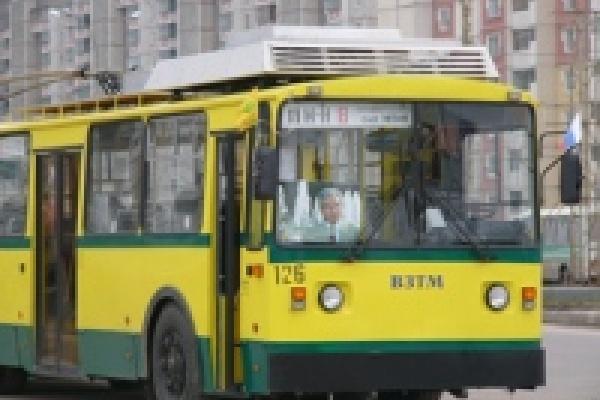 Движение троллейбусов маршрутов № 6 и №8 на время будет изменено