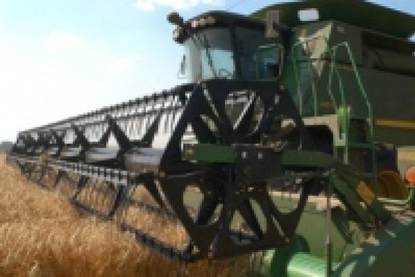 Уборка зерновых идет во всех районах области