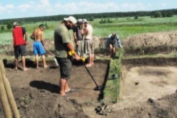 В Кривце обнаружены следы раннеславянской народности
