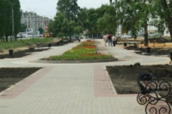 На проект «Липецкие скверы»  в  2011 году выделено 30 млн. рублей