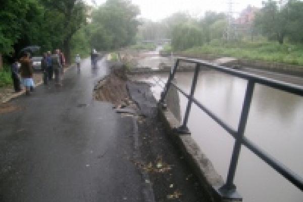 Подпорная стена отстойника Комсомольского пруда будет восстановлена