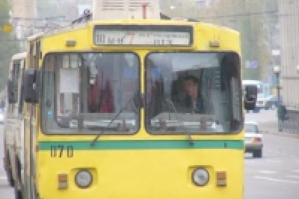 Маршрут троллейбуса №4 временно изменён