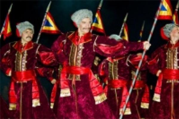 «Казаки России» выступили в Мадриде