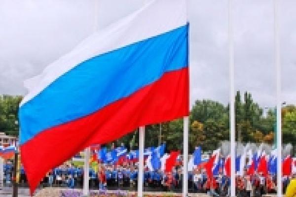 Липецк готовится отметить День российского флага