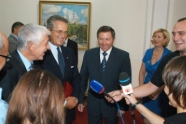 В Липецк приехал посол Италии