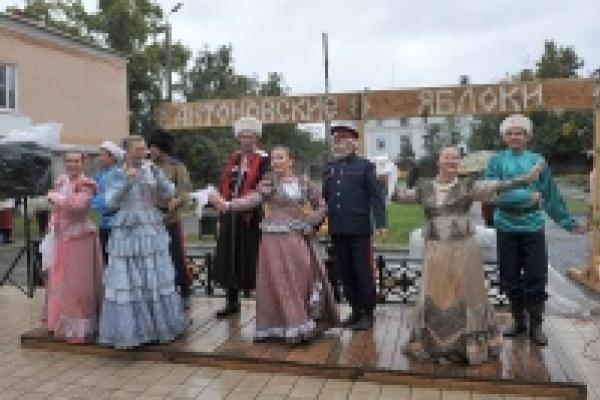 В Липецкой области прошел туристический праздник «Антоновские яблоки»