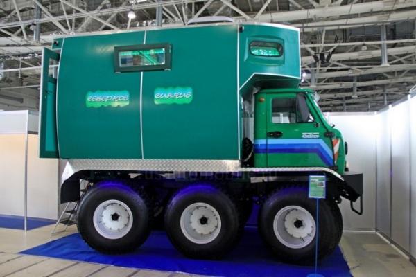 Липецкий завод малых коммунальных машин запустил в производство внедорожный кемпер Мурашка