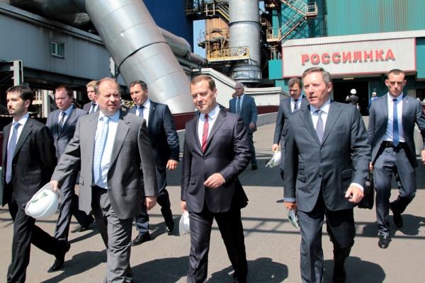 В Липецке с рабочим визитом побывал премьер – министр Российской Федерации