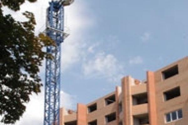 В Липецкой области построено более 420 тысяч квадратных метров нового жилья