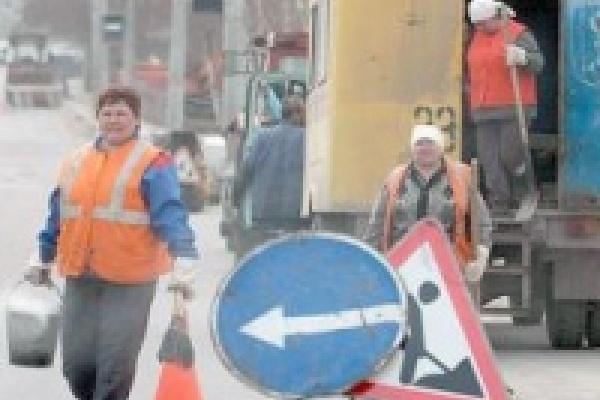 Работы по демонтажу трамвайного полотна на улице Циолковского приведут к ограничению движения всех видов транспорта