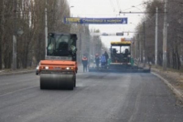 Капитальный ремонт проспекта Победы завершится через несколько дней