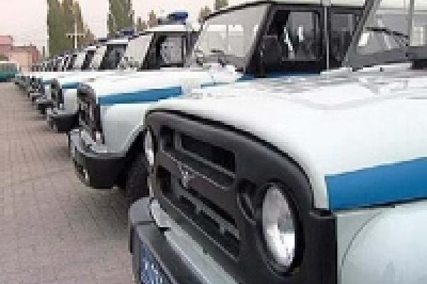 Полиция получает новые автомобили