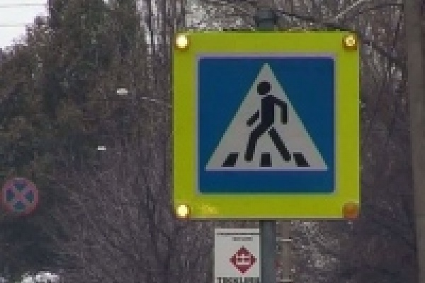В Липецке на пешеходном переходе появилась умная «зебра»