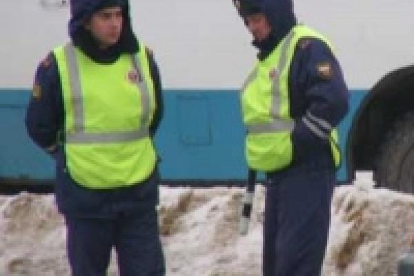 В Липецке с патрулем ДПС дежурит священник