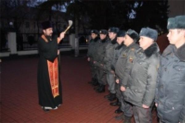 Еще одна группа липецких полицейских отправлена на Кавказ