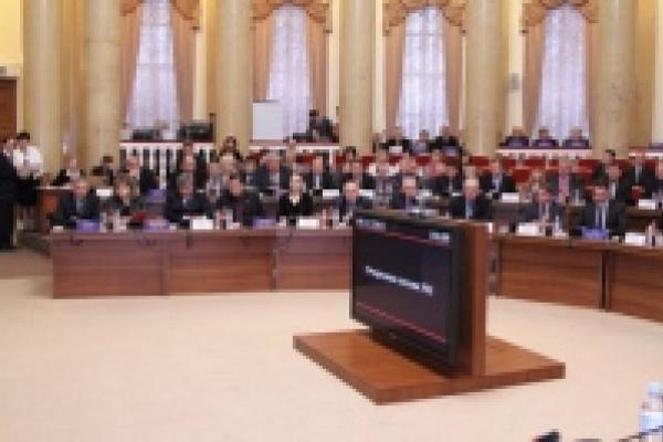 Вице-спикерами регионального парламента стали Василий Мурузов и Сергей Грибанов