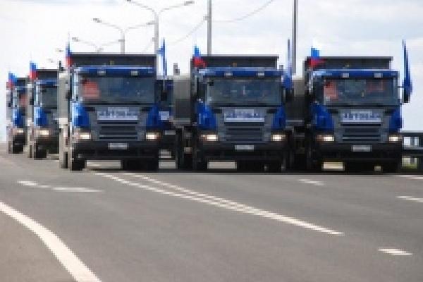 Проезд грузовиков по платному участку трассы «Дон» по ночам станет вдвое дешевле