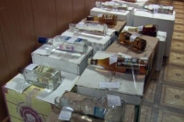 В Липецке в подпольном складе изъяли 400 литров пойла
