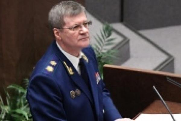 Юрий Чайка заявил, что в Липецкой области борьба с коррупцией провалилась