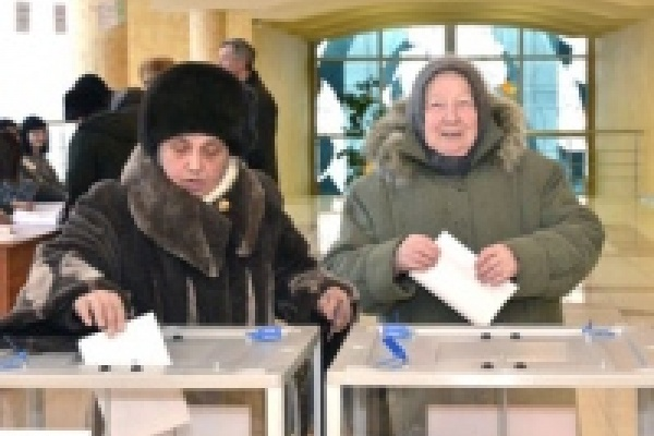 За Путина проголосовало больше 54 процентов избирателей Липецка