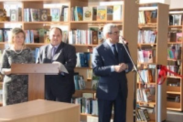 Библиотека имени Бартенева открылась после реконструкции