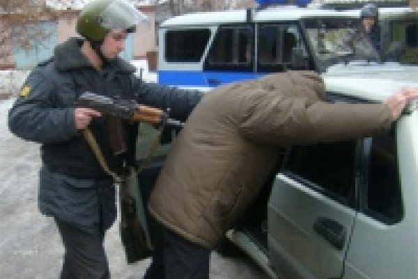 Полицейский патруль задержал улчиных грабителей