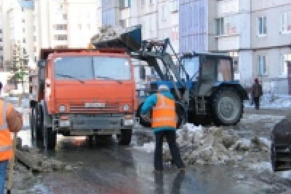 С начала года с улиц Липецка убрано 140 тысяч кубометров снега