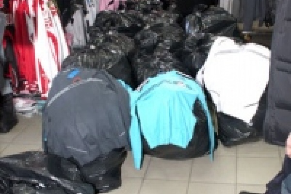 В Липецке полиция изъяла крупную партию контрафакта