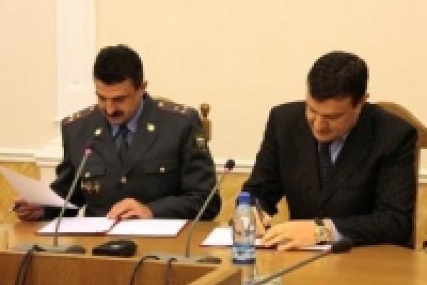 Липецкая полиция и горсовет заключили соглашение о взаимодействии