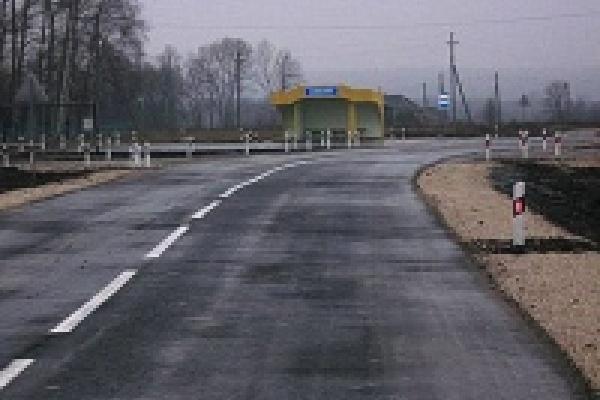 В Грязинском районе завершен ямочный ремонт на автодороге Грязи-Добринка
