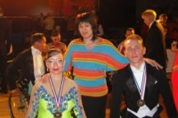 Липецкие танцоры-колясочники завоевали бронзовые медали на кубке мира в Нидерландах