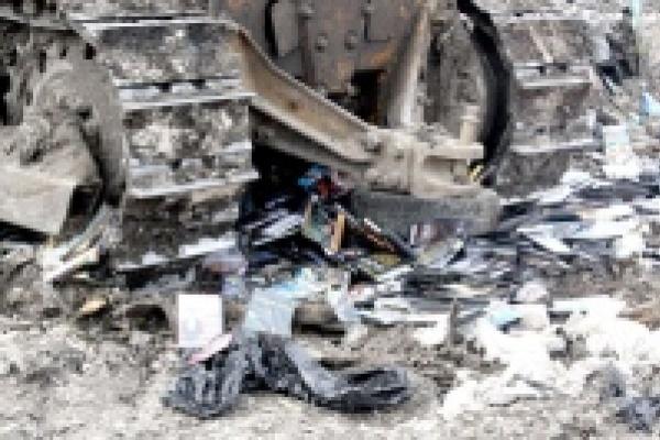 Липецкие полицейские уничтожили пять тысяч контрафактных дисков
