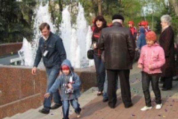 Первомай в Липецке встретят открытием фонтанов и массовыми гуляниями