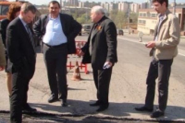 В Липецке проверяли качество дорожных работ