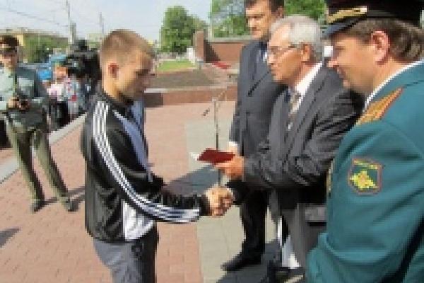 Липецкие призывники будут служить в Президентском полку