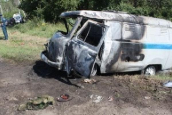 В Липецкой области  возбуждено уголовное дело по факту ДТП с участием конвойного автомобиля