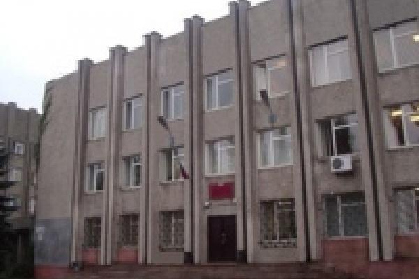 Судебные приставы не дали загорется зданию суда