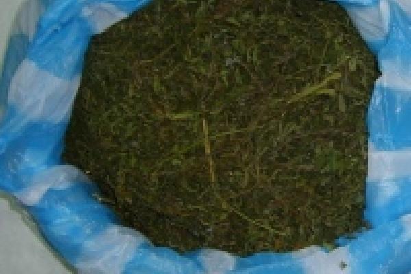 Селянина наказали за марихуану