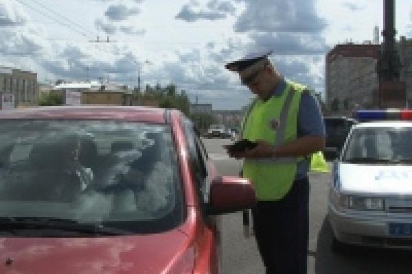 В Липецке полиция провела рейд «Маленький пассажир»