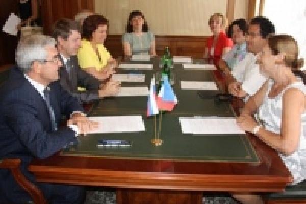 Французские гости встретились с руководителями Липецка