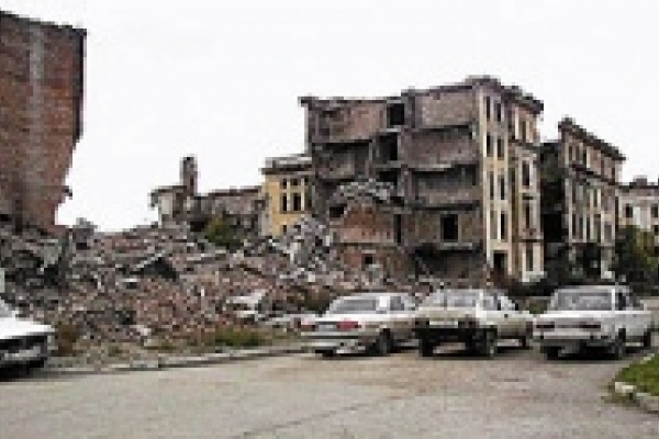КВНщики из Липецка навестили земляков-омоновцев в столице Чечни