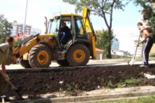 В Липецке завершается ремонт автотрасс на улицах Водопьянова и Меркулова