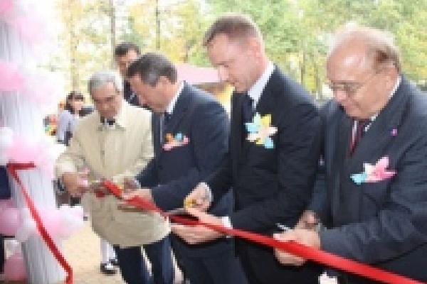 В Липецке торжественно открыли новый детский сад