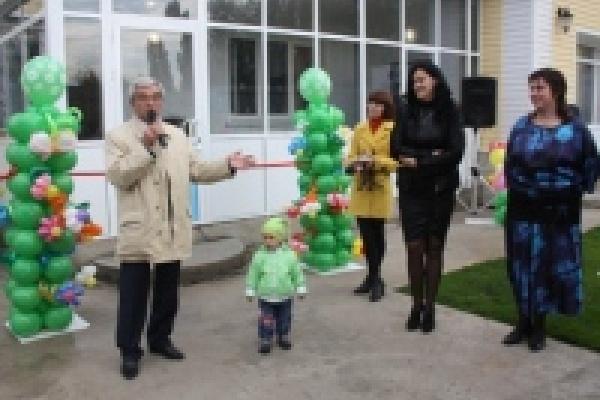 В Сокольском районе Липецка открылся новый частный детский сад